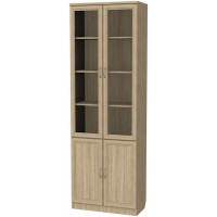 Шкаф для книг 206 дуб сонома