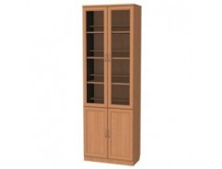 Шкаф для книг 200 ольха