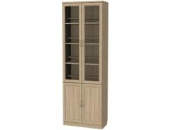 Шкаф для книг 200 дуб сонома