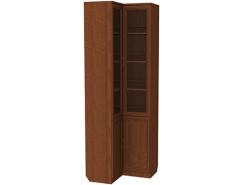Шкаф для книг угловой 211 дуб