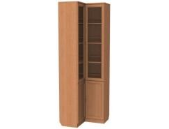 Шкаф для книг угловой 211 ольха