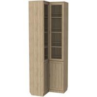 Шкаф для книг угловой 211 дуб сонома