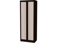 Шкаф для белья со штангой и полками 101 венге