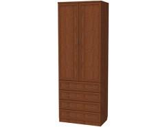 Шкаф для белья со штангой и ящиками 103 дуб