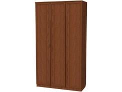 Шкаф для белья с полками и штангой 106 дуб