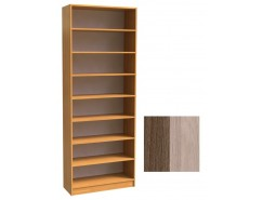 Шкаф для книг открытый ШК-2/3 шимо темный/шимо светлый