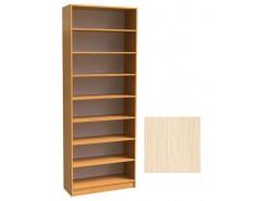 Шкаф для книг открытый ШК-2/3 дуб молочный