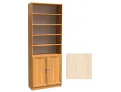 Шкаф для книг полуоткрытый ШК-2/3 дуб молочный