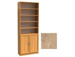 Шкаф для книг полуоткрытый ШК-2/3 дуб сонома