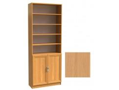 Шкаф для книг полуоткрытый ШК-2/3 ольха