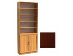 Шкаф для книг полуоткрытый ШК-2/3 орех