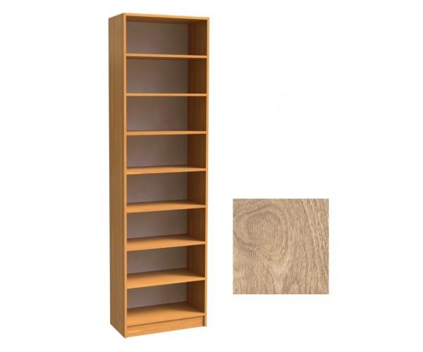 Шкаф для книг открытый ШК-2/4 дуб сонома