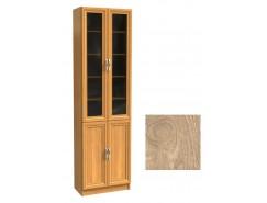 Шкаф для книг ШК-2/4 дуб сонома