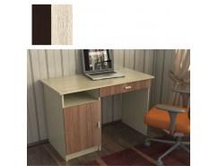 Стол письменный СТ-7 венге/дуб сонома