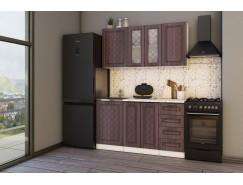 МН для кухни Агава 1,5 м белый\лиственница темная