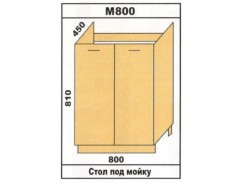 Кухня Лора М800