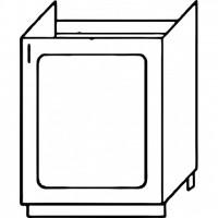 Кухня Агава М500 белый\лиственница светлая