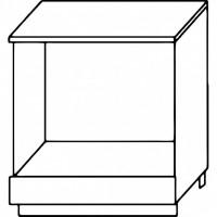Кухня Агава НПЛ600 белый\лиственница светлая