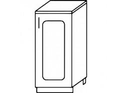 Кухня Агава Н300 белый\лиственница светлая