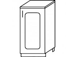 Кухня Агава Н400 белый\лиственница светлая