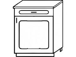 Кухня Агава Н5001Я белый\лиственница светлая