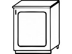 Кухня Агава Н500 белый\лиственница светлая