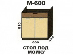 Кухня Шимо М600