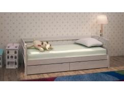 Кровать детская Массив с ящиками 900*1900 выбеленная береза