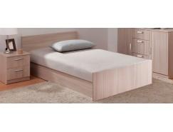 Кровать с подъемным механизмом 1200 мм шимо светлый