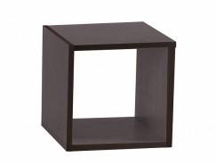 Полка настенная Кубик-1 венге