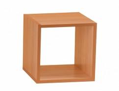 Полка настенная Кубик-1 вишня
