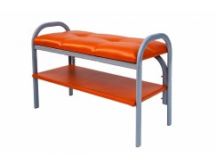 Пуф-банкетка Практик-7 оранжевый