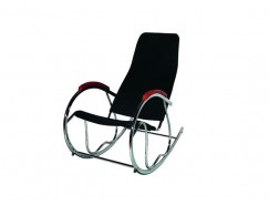 VS-9009F-010 (кресло-качалка) черный